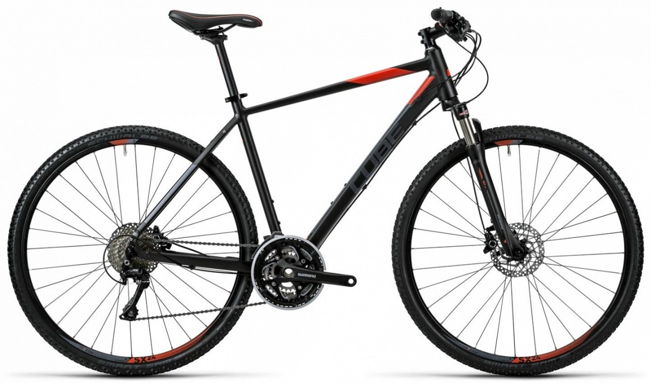 Cross Black 2016- Hybrid Bike