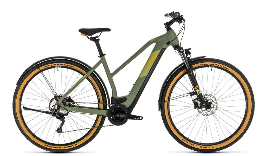 Cube Cross Hybrid Pro 625 All-road Green / Orange 2020