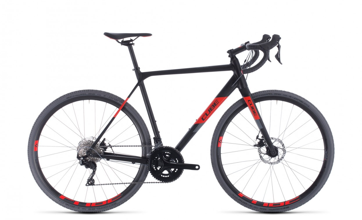 Cube Cross Race Black / Red 2020
