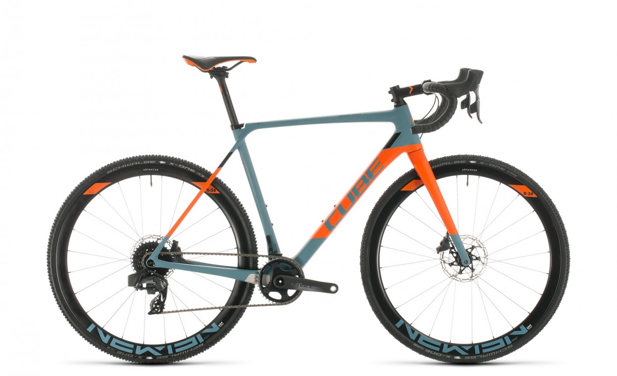 Cube Cross Race C:62 SLT Blue grey / Orange 2020