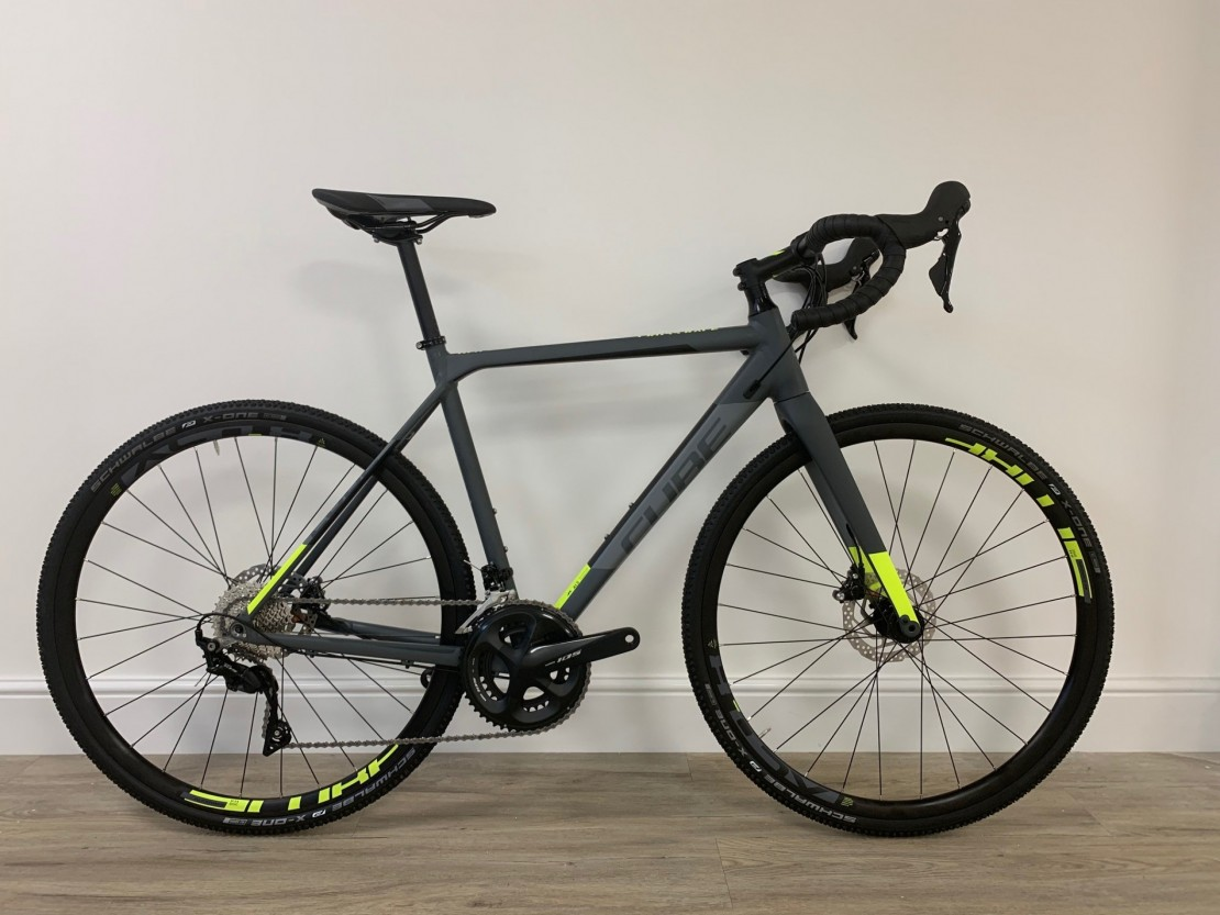 10e8567b680 Cube Cube Cross Race Pro Grey/Flashyellow 2019