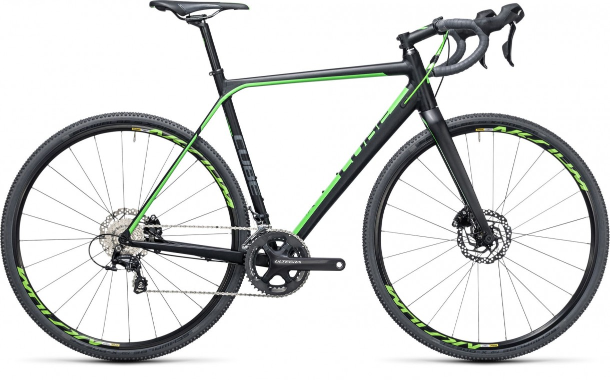 Cube Cross Race SL Black/Green 2017
