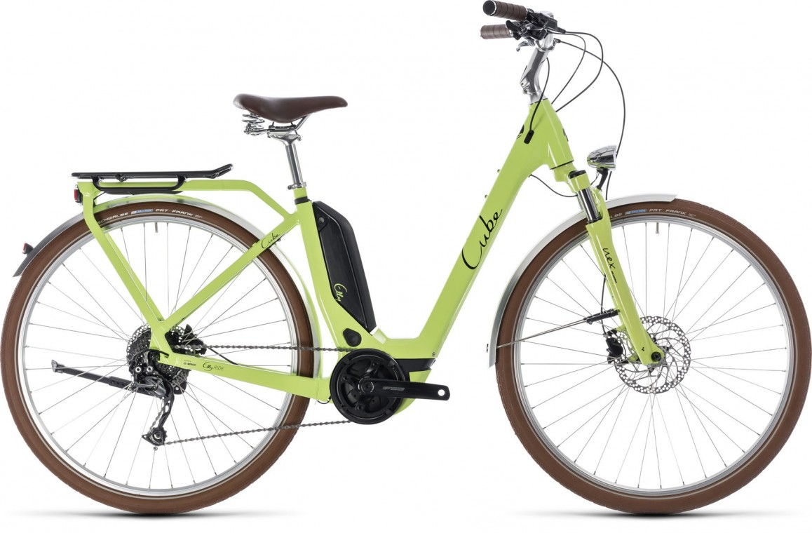 Elly Ride Hybrid 400, 2018 - electric bike green/black