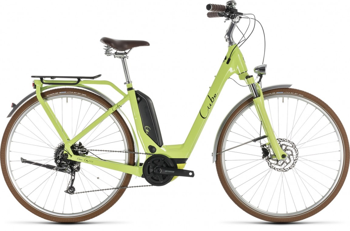 Cube Elly Ride Hybrid 500 Green/BlackElly Ride Hybrid 500 2019 - Electric Bike