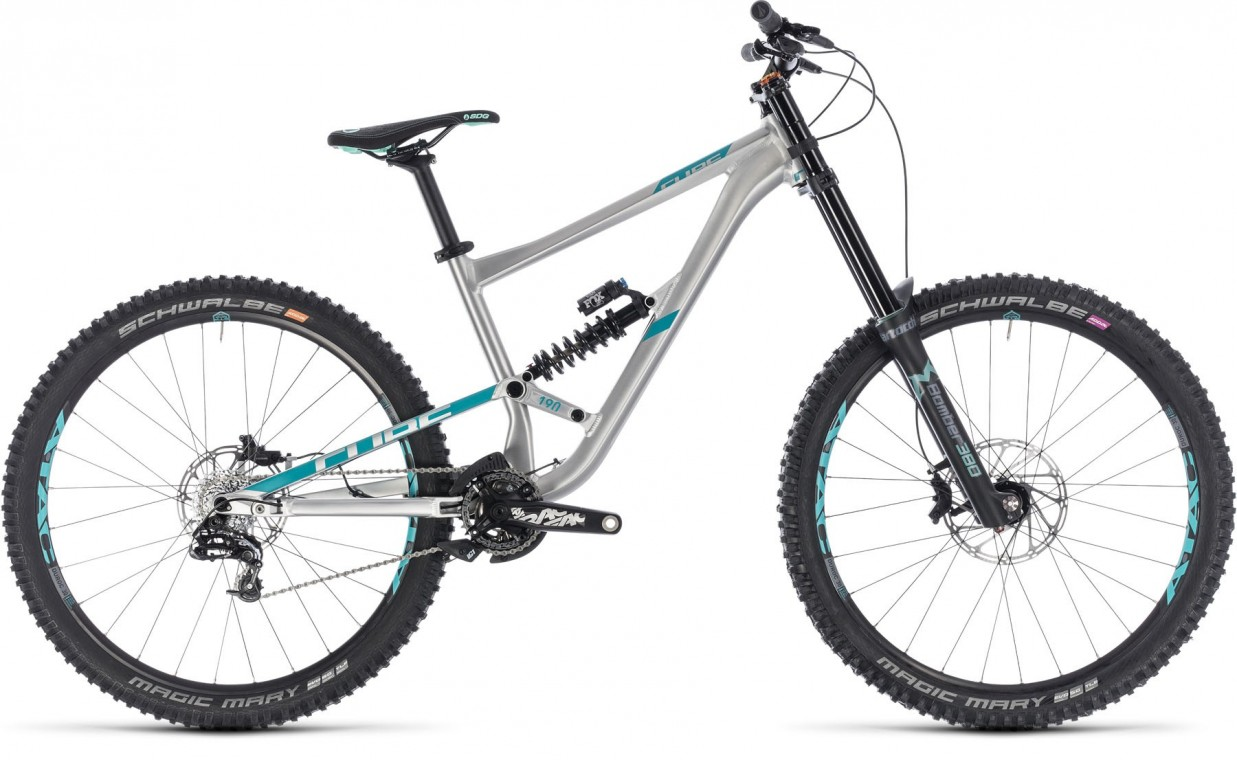 Hanzz 190 SL 27.5, 2018 - Freeride full suspension bike