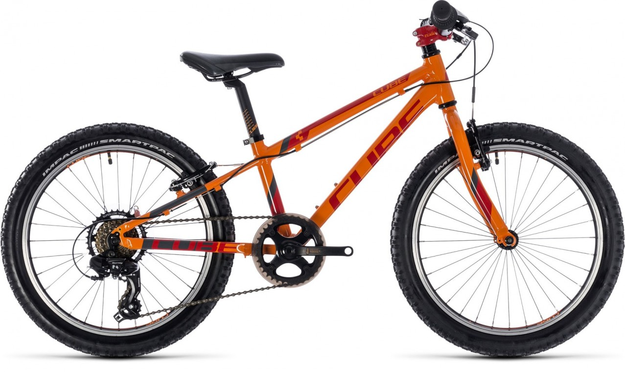 Kid 200, 2018 - Kids bike orange/red