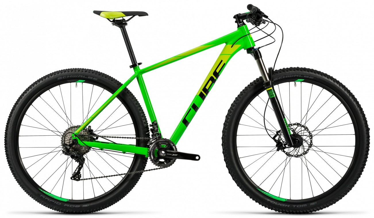 LTD Pro 29 Green 2x 2016 - Hardtail Mountain Bike