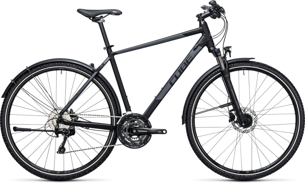 Cube Nature AllRoad Black/Grey 2017