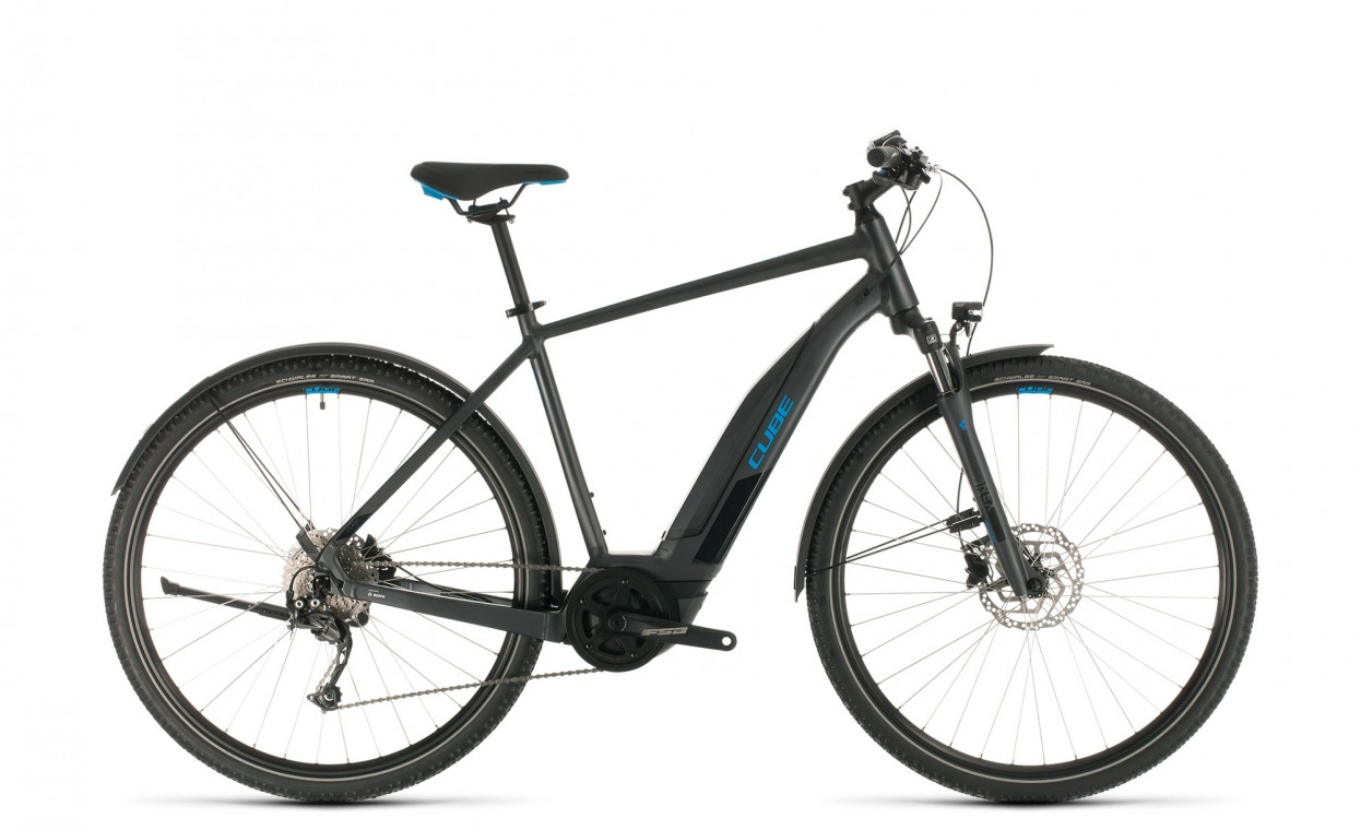 Cube Nature Hybrid One 400 All-road 2020 Electric Bike (click to zoom)