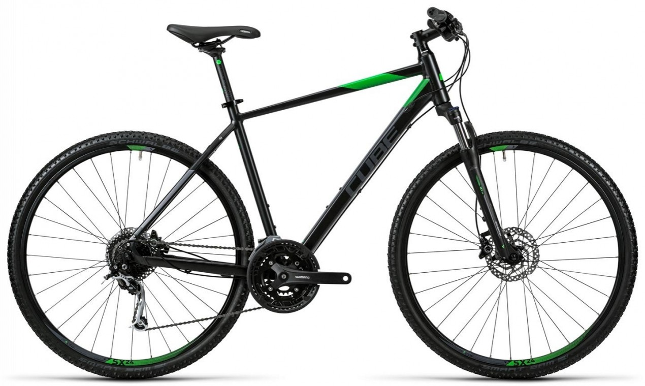 Nature Trapeze Black 2016 - Hybrid Bike