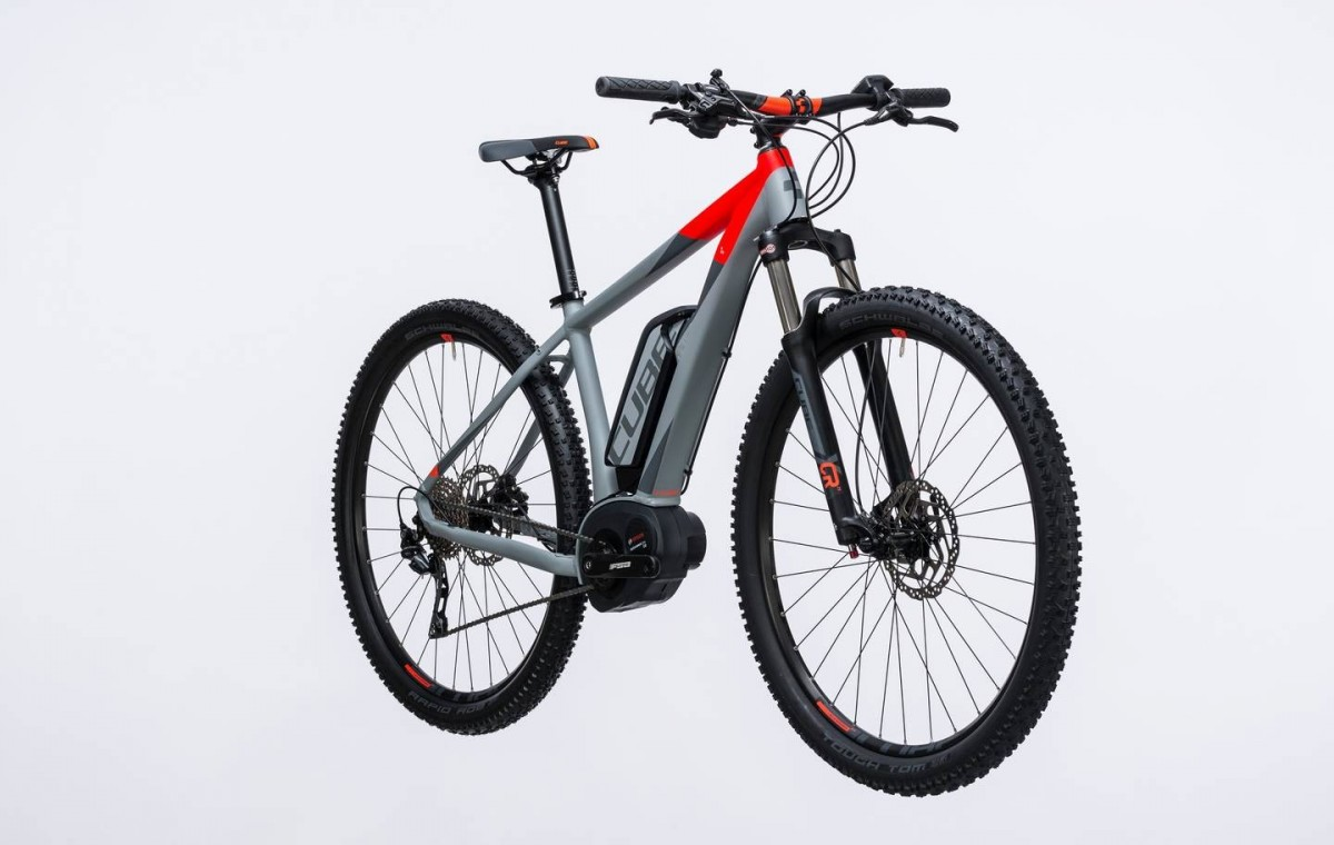 Reaction Hybrid HPA Pro 400 29  Red 2017 - Electric Mountain Bike