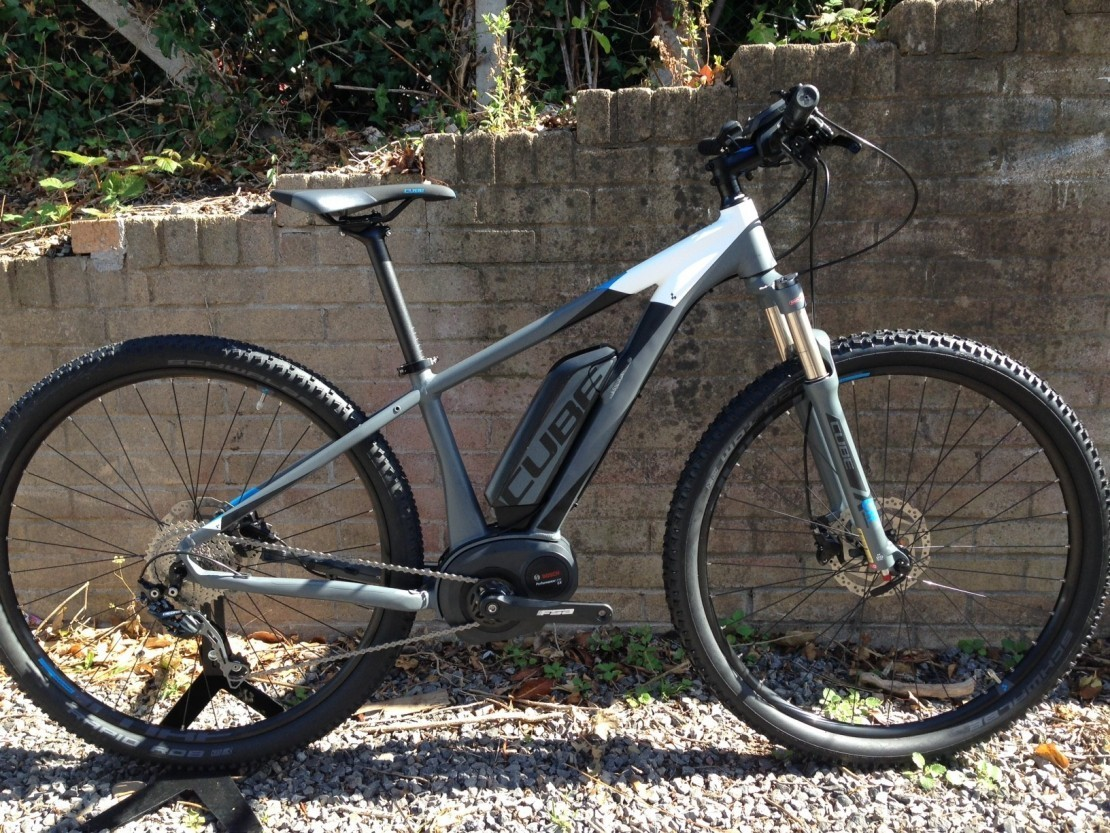 Cube Reaction Hybrid HPA Pro 500 27.5 Grey-Blue 2017 Electric Bike