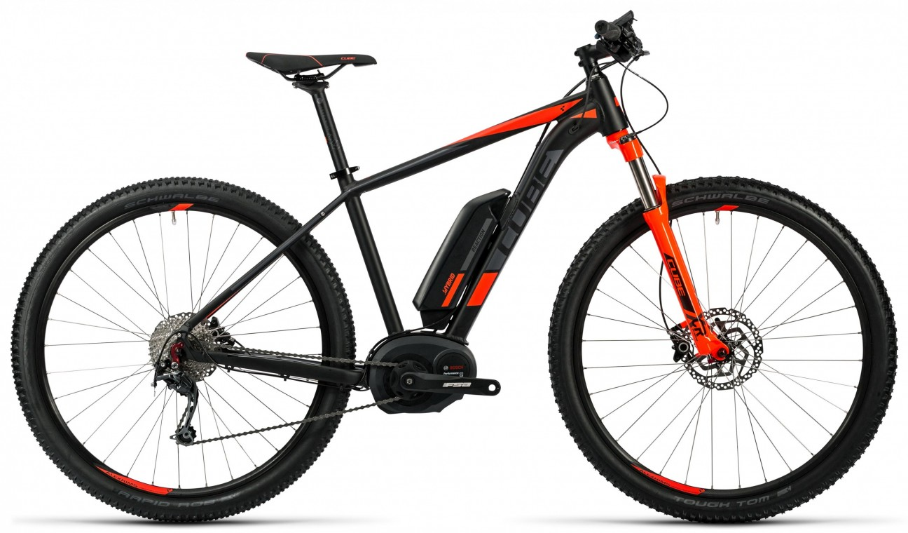 Reaction Hybrid HPA Pro 500 27.5 Red 2016 - Electric Mountain Bike