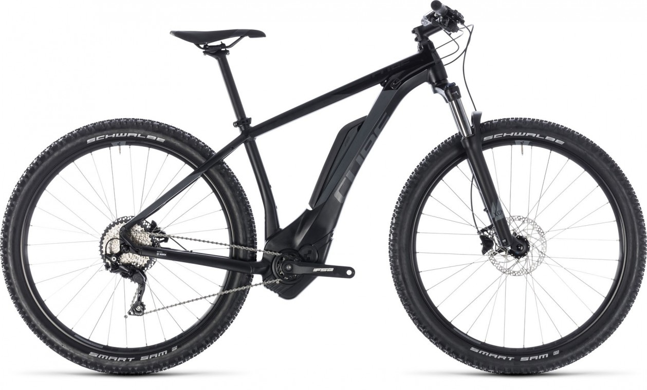 Reaction Hybrid Pro 400 27.5, 2018 - electric bike black/grey
