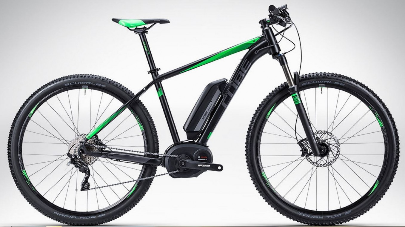 Reaction Hybrid HPA Race Grey Green 27.5 2015- Electric Mountain Bike Race