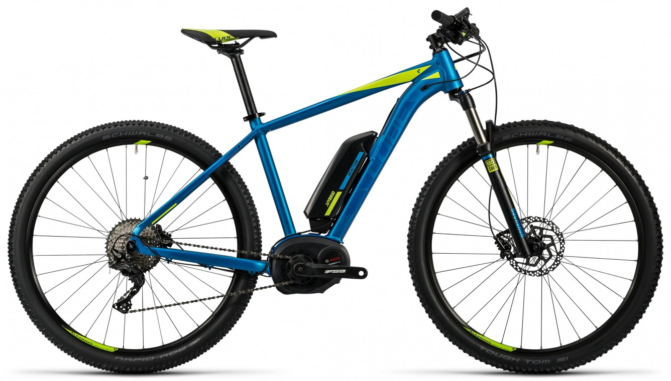 Reaction Hybrid HPA Race 400 27.5 Blue 2016 - Electric Mountain Bike