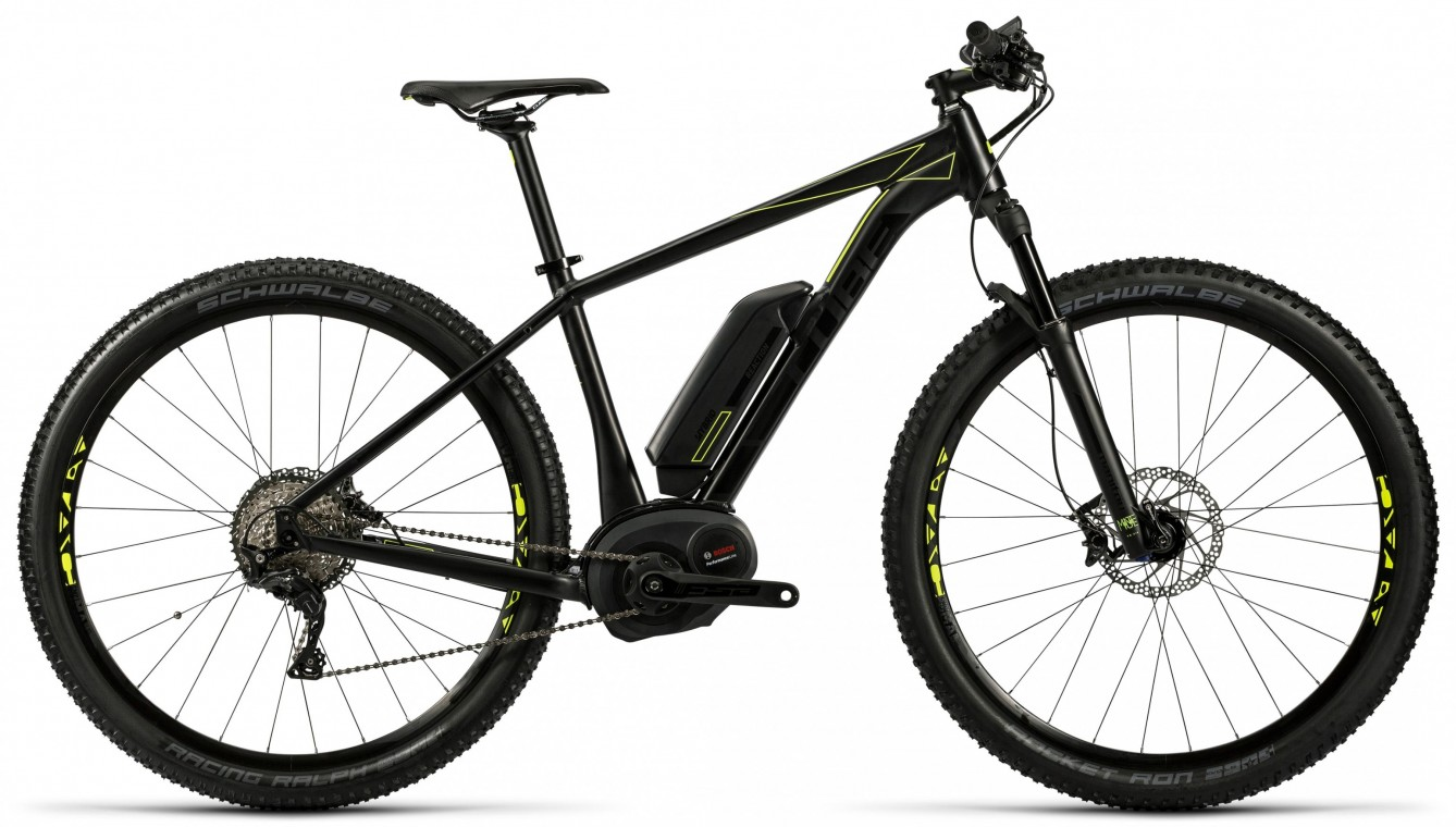 Reaction Hybrid HPA SL 500 27.5 Black 2016- Electric Mountain Bike