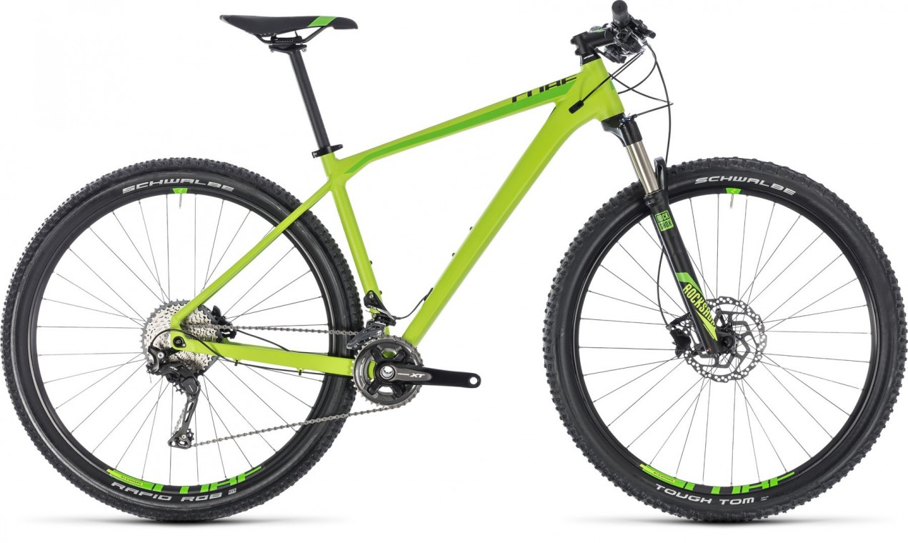 Reaction Pro 27.5, 2018 - Hardtail Mountain bike green/black