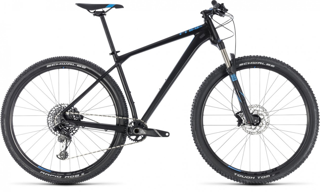 Reaction Race 27.5, 2018 - Hardtail Mountain bike black/blue