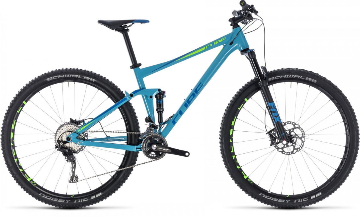 Stereo 120 Race 27.5, 2018 - Full suspension bike