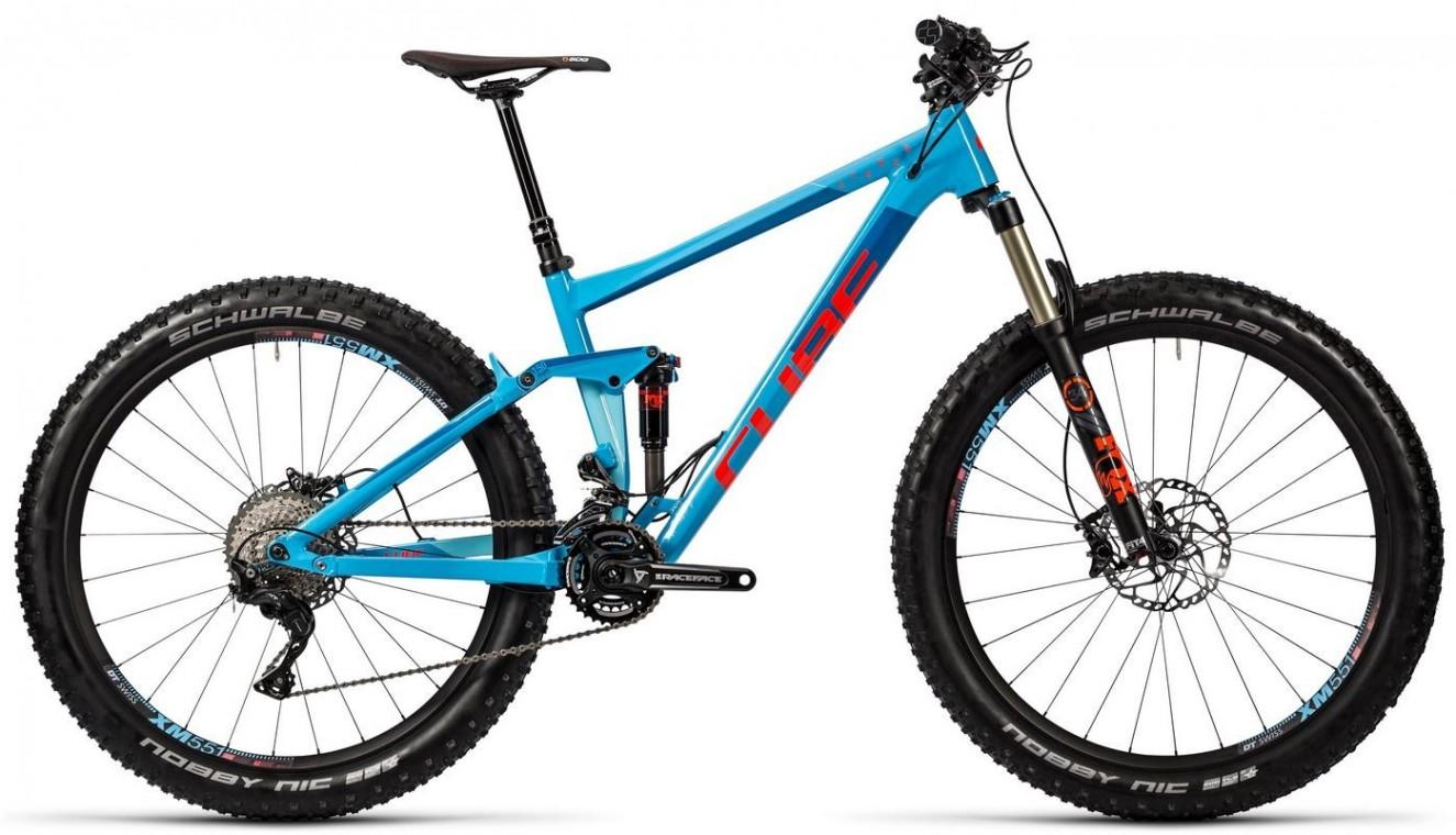 cube stereo 150 hpa sl 27 5 2016 650b 27 5 mountain bike. Black Bedroom Furniture Sets. Home Design Ideas