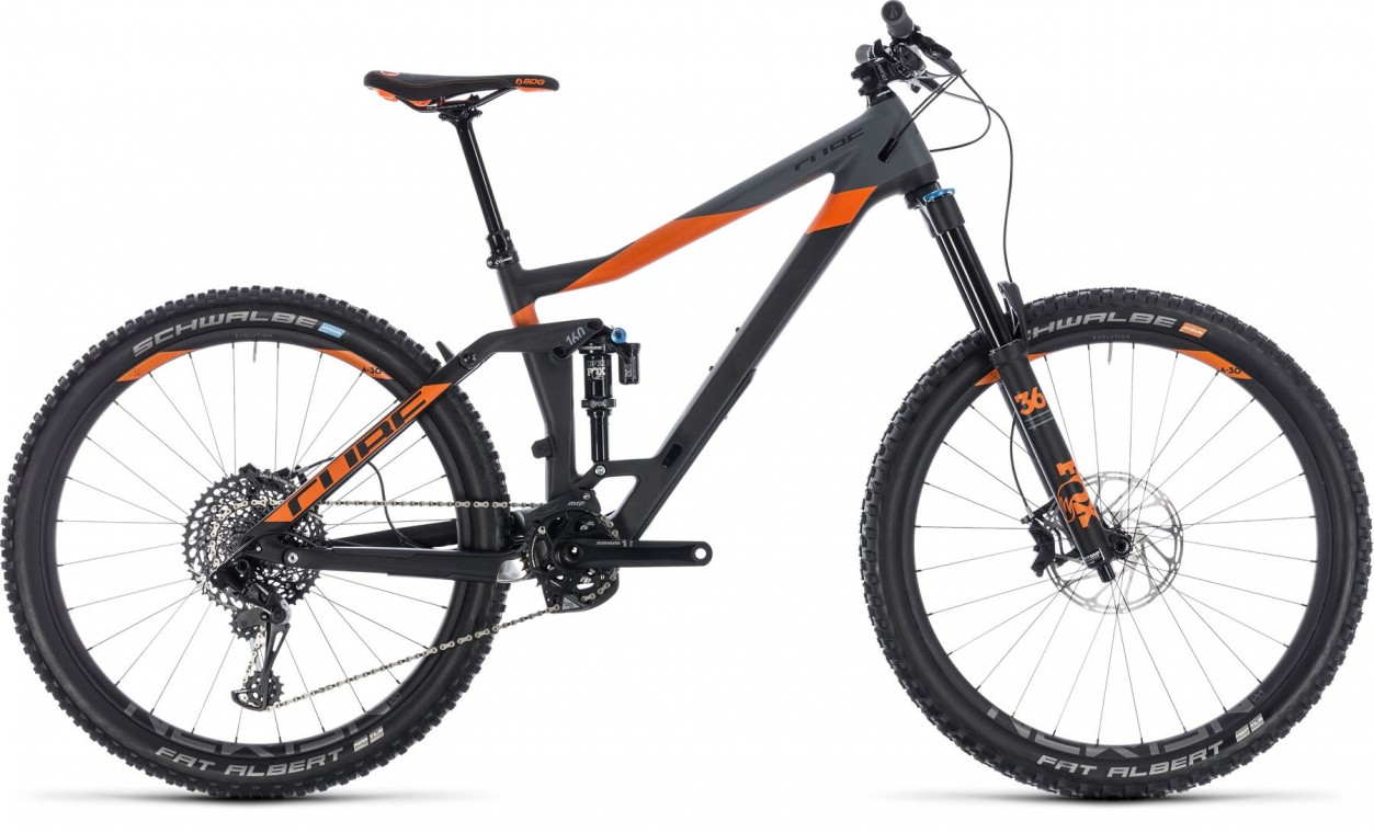 Stereo 160 C:62 TM 27.5, 2018 - Full suspension bike