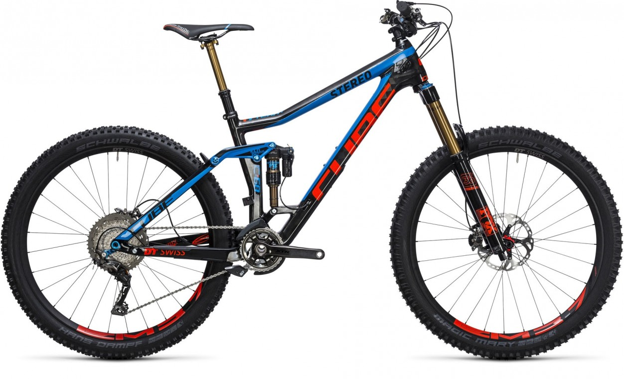 Cube Stereo 160 C:68 27.5 Action Team 2017 - Mountain Bike