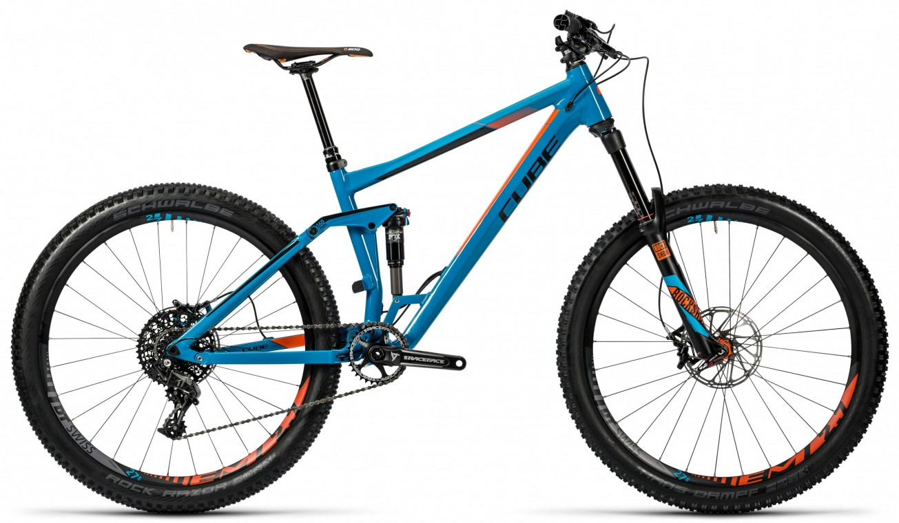 Stereo 160 HPA TM 27.5 2016 - Full Suspension Mountain Bike