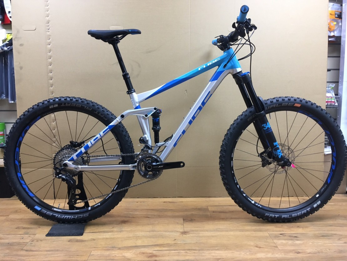 f86c70f8841 Cube Stereo 160 SL 27.5, 2018 - Full suspension bike