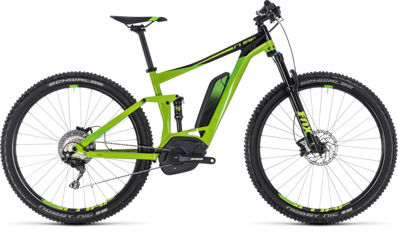 Stereo Hybrid 120 EXC 500 29, 2018 - electric bike green