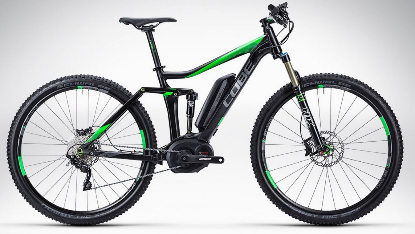 Stereo Hybrid 120 HPA Race NYON 29 2015- Full suspension Electric Bikes