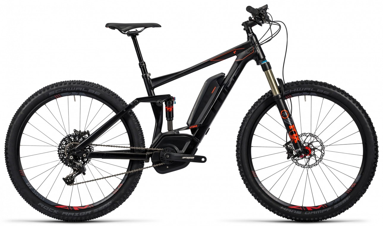 Stereo Hybrid 120 HPA SL 500 27.5 2016 - Full Suspension Electric Bike