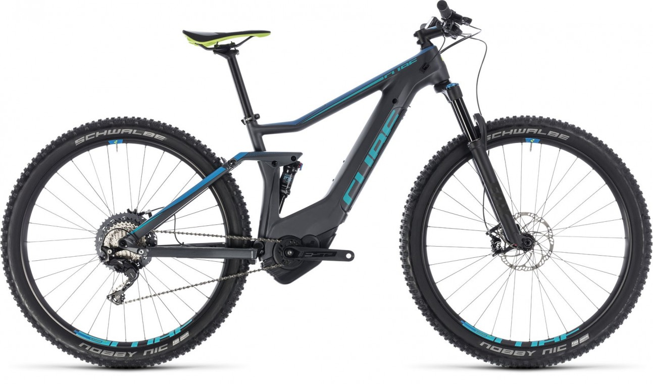 Stereo Hybrid 120 HPC Race 500 29, 2018 - electric bike iridium/blue