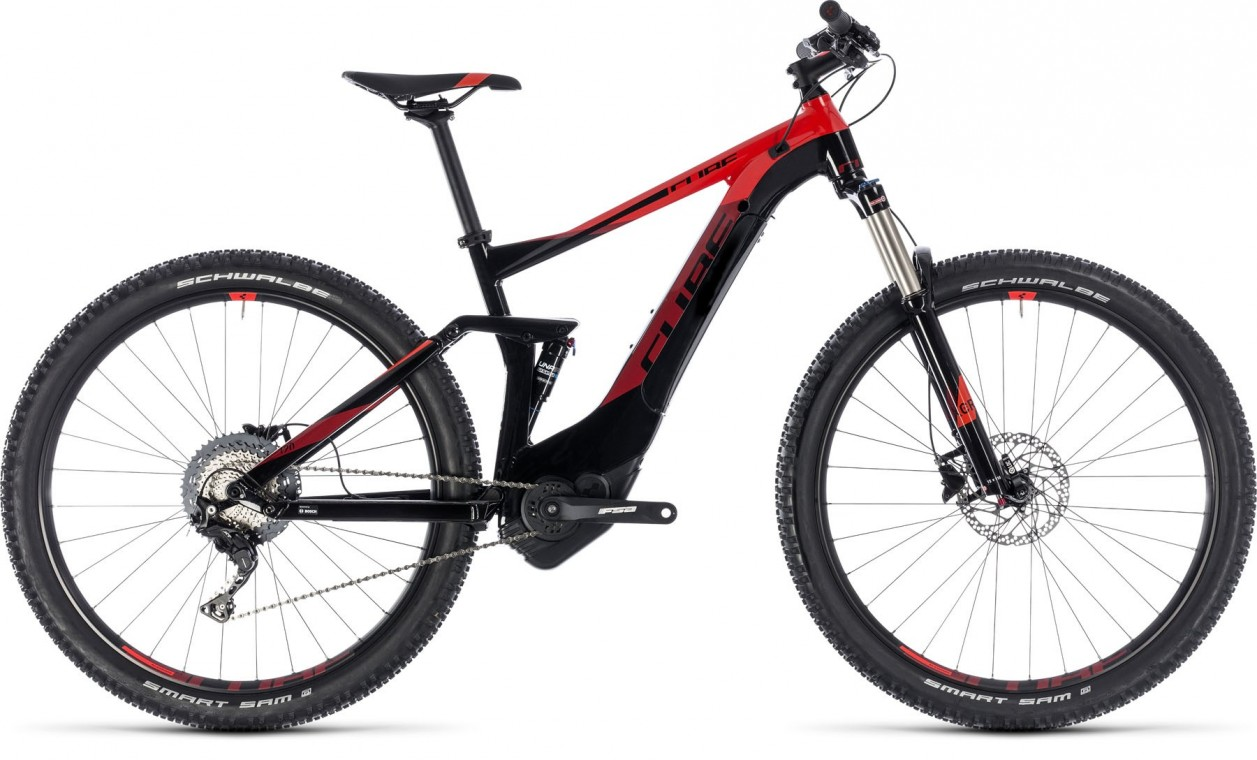 Stereo Hybrid 120 Pro 500 27.5, 2018 - electric bike black/red