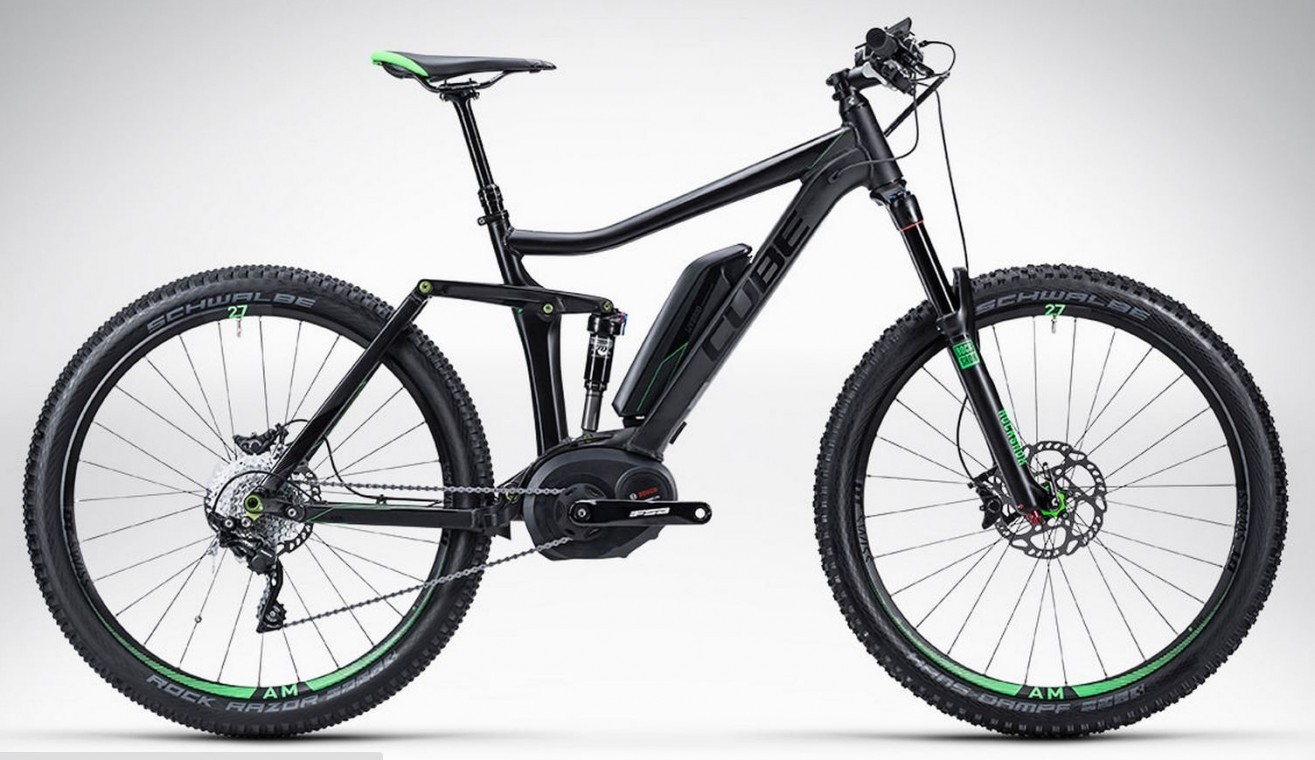 Stereo Hybrid 140 HPA Race 27 Neon 27.5 - 2015 Full suspension Electric Bikes