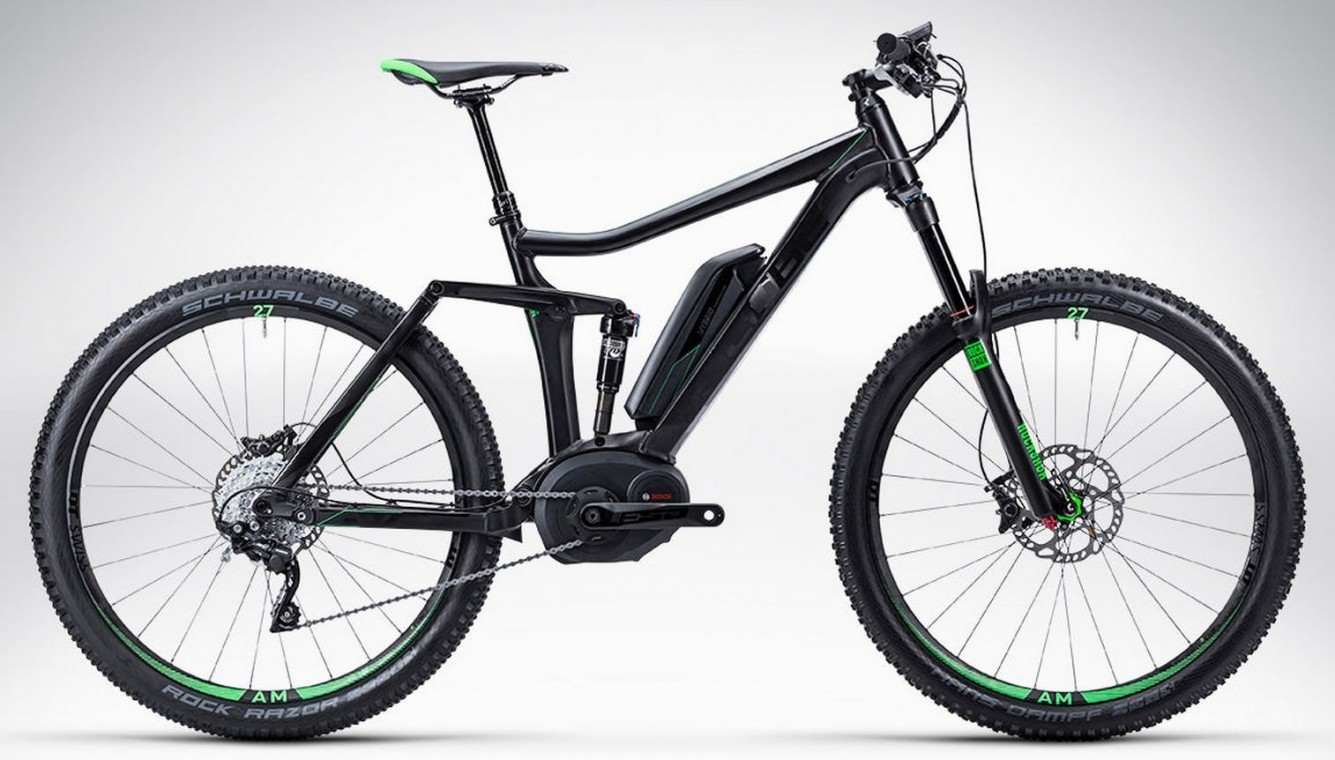 Stereo Hybrid Demo Model 140 HPA Race Nyon 27 Neon 27.5 - 2015 Full suspension Electric Bikes