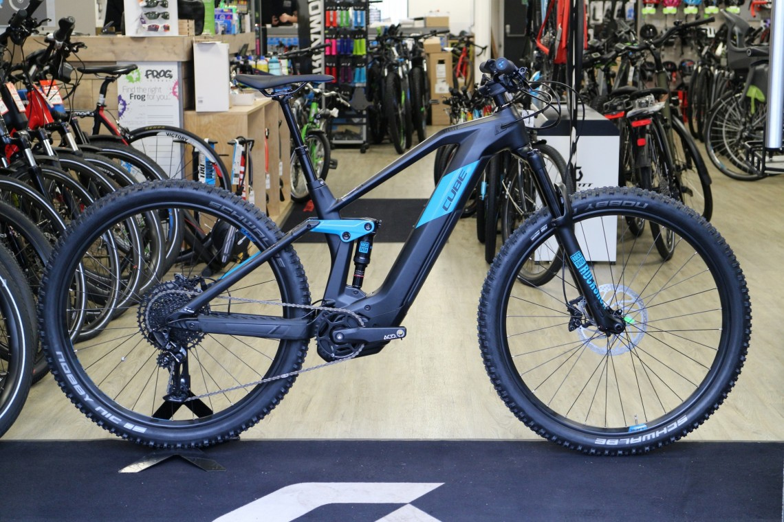sale retailer best loved fast delivery Cube Stereo Hybrid 140 HPC Race - Full Suspension Bike 2020 Electric Bike