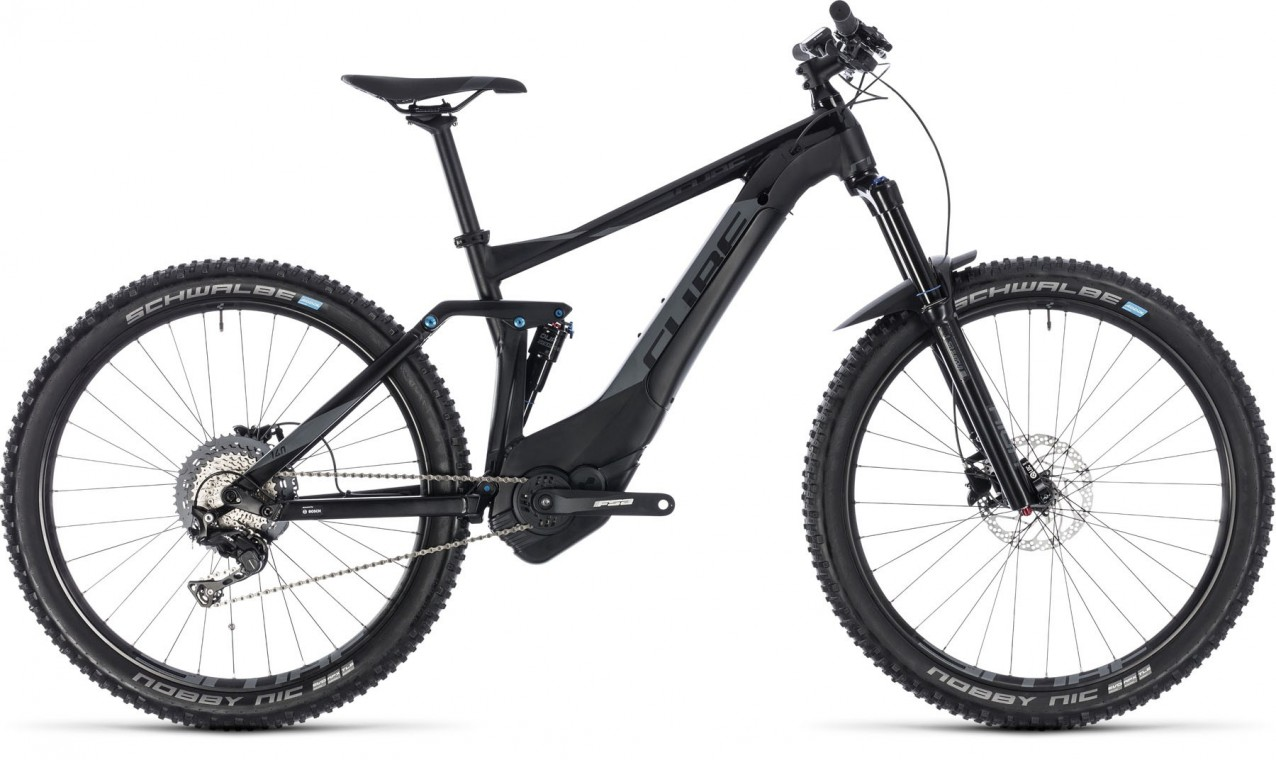 Stereo Hybrid 140 Pro 500, 2018 - electric bike black/grey