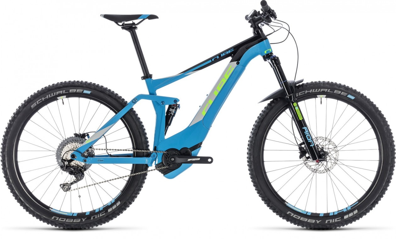 Stereo Hybrid 140 Pro 500, 2018 - electric bike blue/green