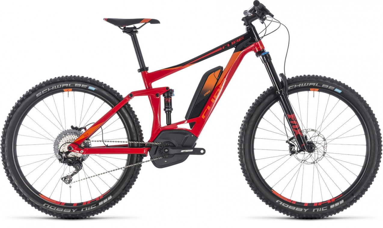 Stereo Hybrid 140 Race 500, 2018 - electric bike red/ora