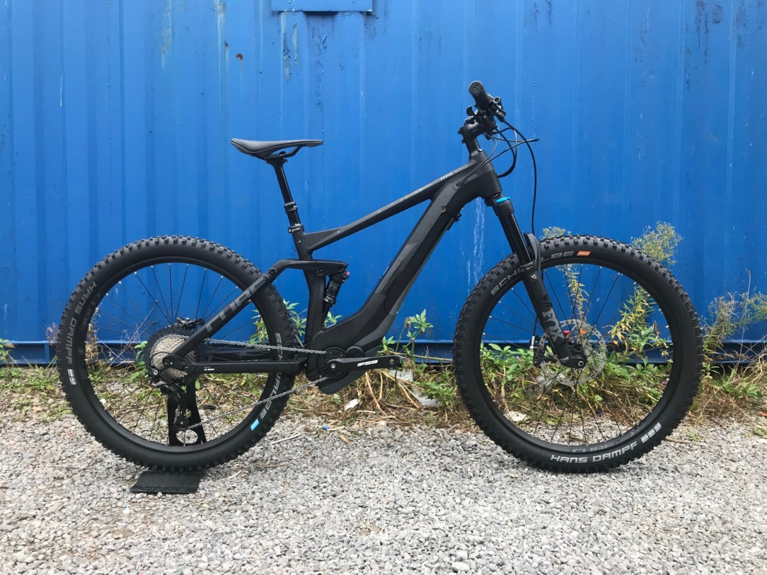 Cube Stereo Hybrid 140 SL 500 27.5 - 2019 Electric Bike