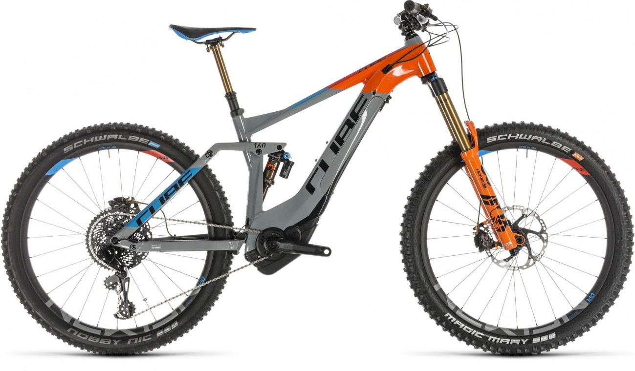 Cube Stereo Hybrid 160 Action Team 500 Kiox - 2019 Electric Bike