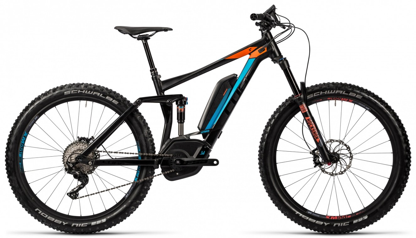 Stereo Hybrid 160 HPA 500 27.5+ 2016 - Electric Full Suspension Bike