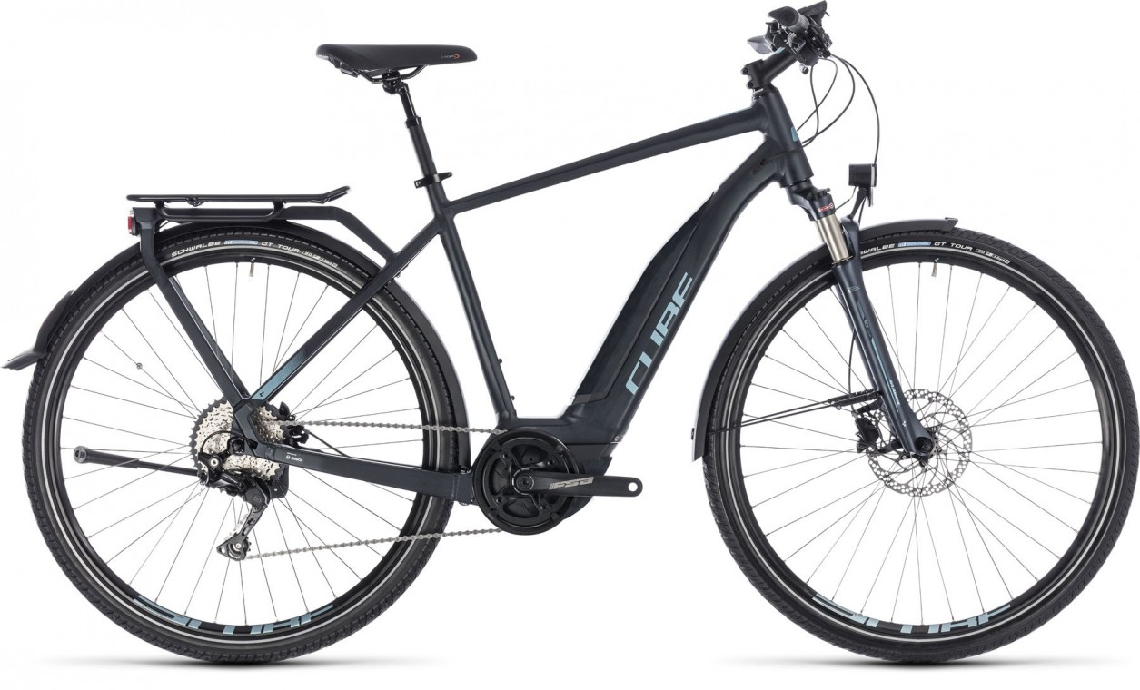 Touring Hybrid Pro 500, 2018 - electric bike navy/blue