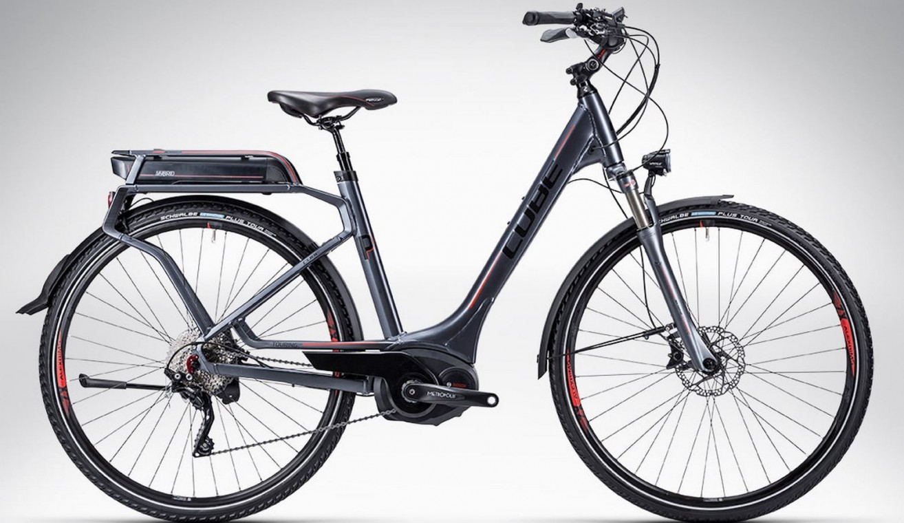 Touring Hybrid Pro Easy Entry 2015 - Hybrid Electric Bike