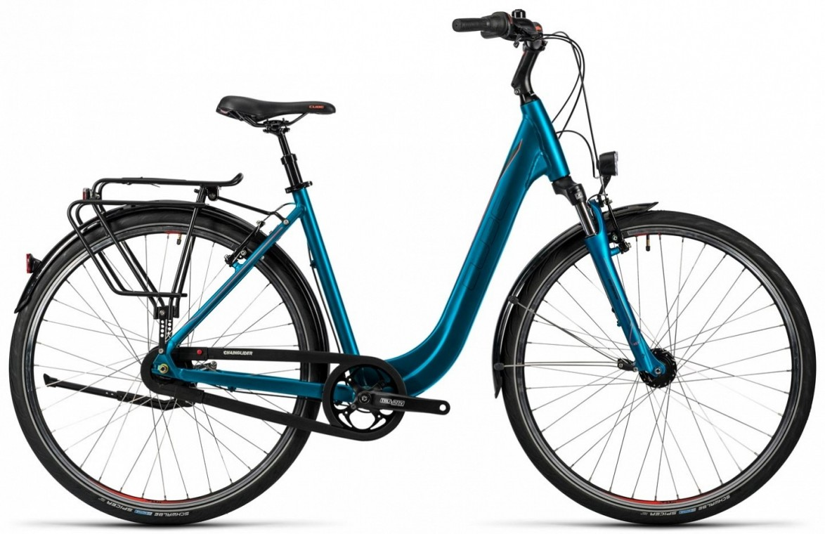 Town Easy Entry Blue 2016 - Hybrid Bike