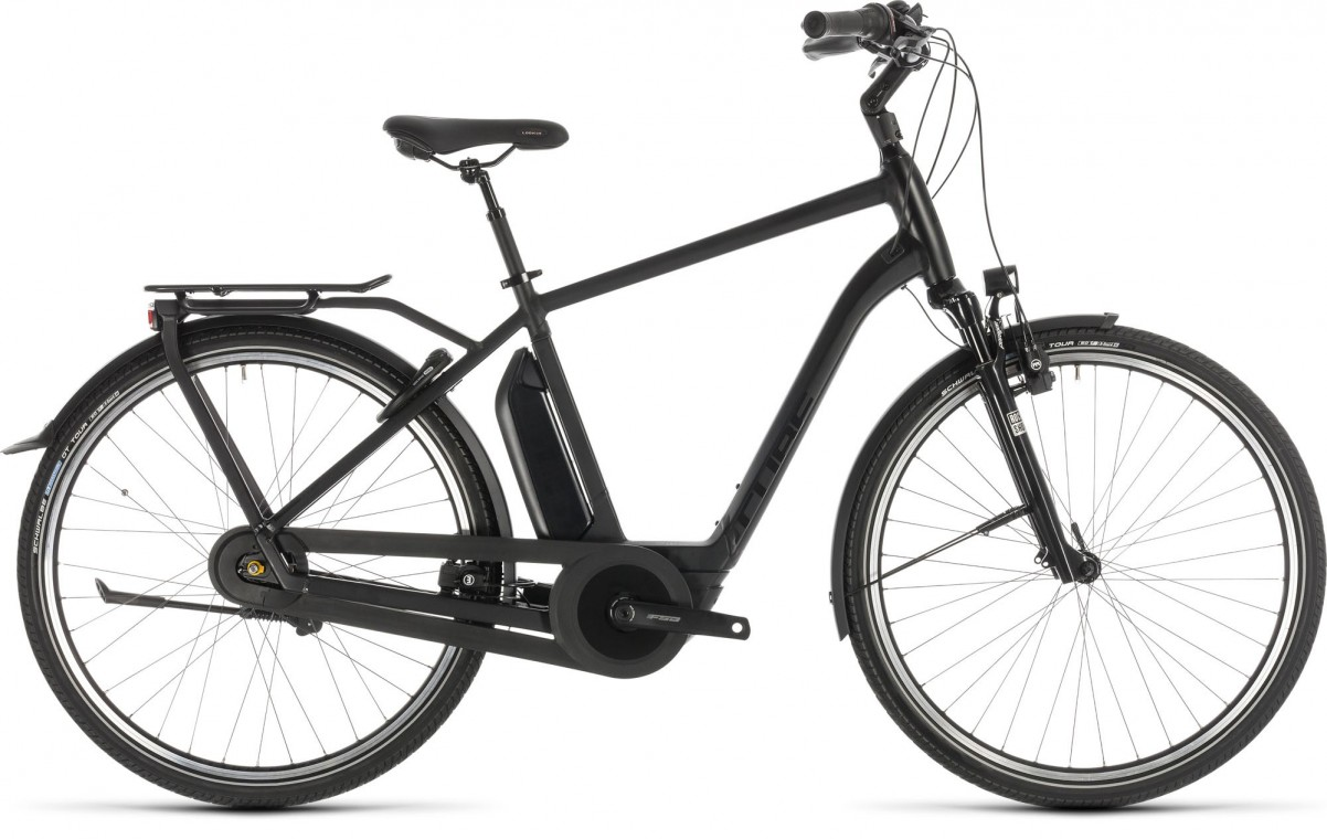 Cube Town Hybrid Exc 400 Black Edition - Electric Bike 2019