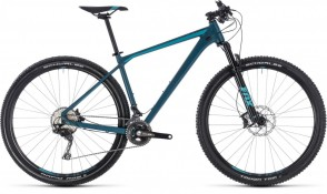 Cube Reaction SL 27.5, 2018 - Carbon Hardtail Mountain bike darkblue/mint