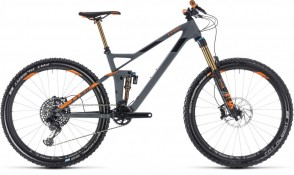 Cube Stereo 140 HPC TM 27.5, 2018 - Full suspension bike