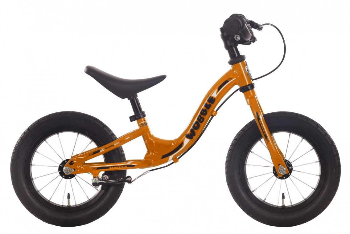 12-inch Wobble Balance Bike Orange 2016